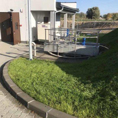 Barlinek - pierwszy etap kompleksowego zagospodarowania terenu wokół oczyszczalni ścieków (10)